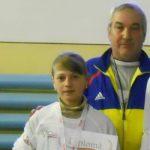 Nicoleta Lungu de la CS Unirea Focşani şi echipa de juniori 2 a LPS Focşani – campioni naţionali la marş!